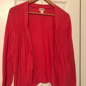 Mossimo swing sweater perfect coral color